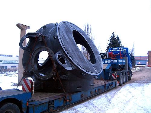 Teile für Großwindanlagen