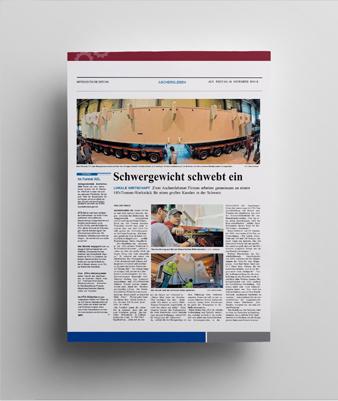 [Translate to English:] Mitteldeutsche Zeitung